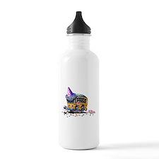 Party School Bus Water Bottle