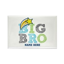 Star Big Bro Rectangle Magnet