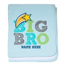 Star Big Bro baby blanket