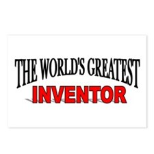 """The World's Greatest Inventor"" Postcards (Package"