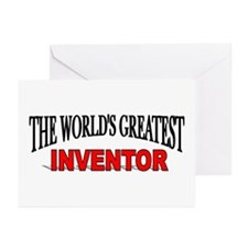 """The World's Greatest Inventor"" Greeting Cards (Pa"