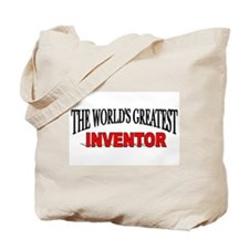 """The World's Greatest Inventor"" Tote Bag"