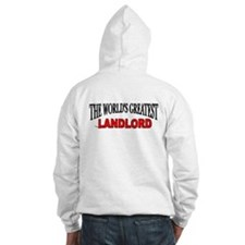 """The World's Greatest Landlord"" Jumper Hoody"