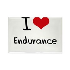 I love Endurance Rectangle Magnet