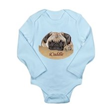 Adorable iCuddle Pug Puppy Body Suit