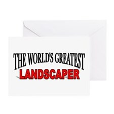 """The World's Greatest Landscaper"" Greeting Cards ("