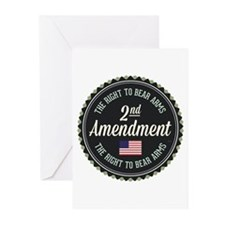 Second Amendment Greeting Cards (Pk of 10)