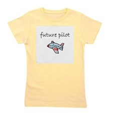 future pilot.bmp Girl's Tee