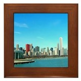 Chicago from the Museums Framed Tile