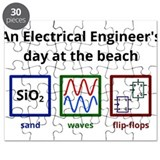 An Electrical Engineers day at the beach Puzzle