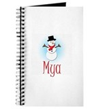 Snowman - Mya Journal