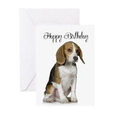 Beagle Birthday Card