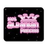 100% Albanian Princess Mousepad