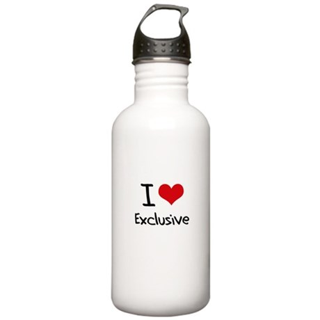 I love Exclusive Water Bottle
