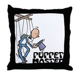 Puppet Master -  Throw Pillow