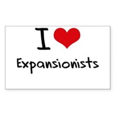 I love Expansionists Decal