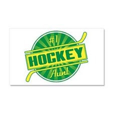#1 Hockey Aunt Car Magnet 20 x 12