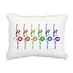 Rhythm Rainbow Canvas Pillow