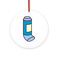 Inhaler Ornament (Round)