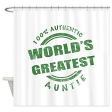 100% Authentic Auntie Shower Curtain