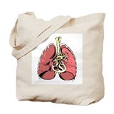 Double Lungs Tote Bag