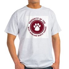 West Highland White Terrier Ash Grey T-Shirt