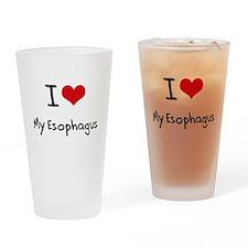 I love My Esophagus Drinking Glass