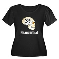 Three Percent Neanderthal Plus Size T-Shirt