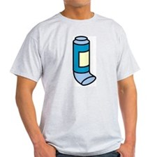 Inhaler Ash Grey T-Shirt