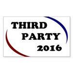 Third Party 2016 Sticker