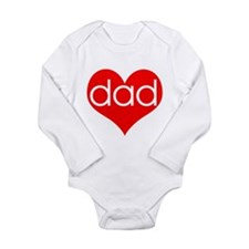I love Dad Infant Creeper Body Suit