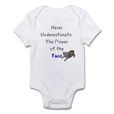Power of the Taco Infant Bodysuit