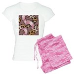 Leopards and Lace - Pink Pajamas