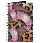 Leopards and Lace - Pink Journal
