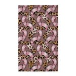 Leopards and Lace - Pink 3'x5' Area Rug