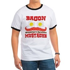 Bacon Mustache T-Shirt