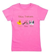 Future Triathlete Girl's Tee