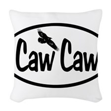 Caw Caw Oval Woven Throw Pillow