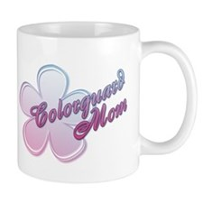 Colorguard Mom Flower Mug