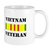VIETNAM VETERAN... Small Mugs
