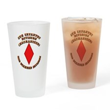 Army - Division - 5th Infantry Drinking Glass
