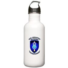 Army - Division - 8th Infantry Water Bottle