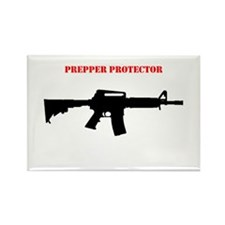 Prepper Protector Rectangle Magnet