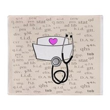 Nurse Throw Blanket