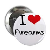 "I Love Firearms 2.25"" Button"