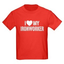I Love My Ironworker T
