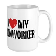 I Love My Ironworker Mug