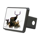 Mule deer,extra wide rack Hitch Cover