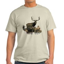 Mule deer,extra wide rack T-Shirt