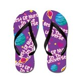 Best ER Nurse in the Universe Flip Flops